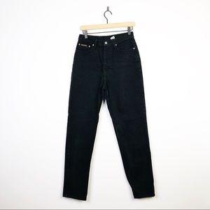 Calvin Klein Vintage Missy Classic Black Jeans 10